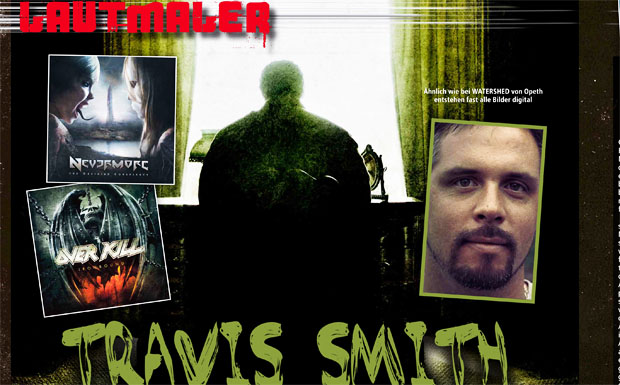 Grafiker Travis Smith in der Lautmaler-Serie
