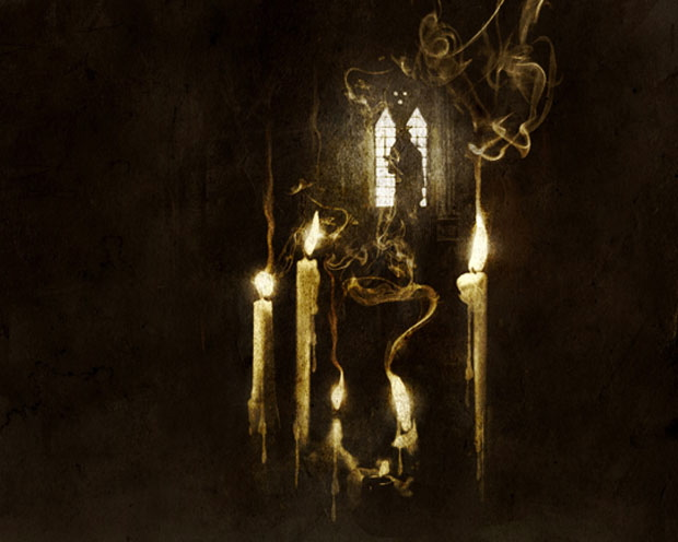 Opeth, Ghost Reveries CD Cover