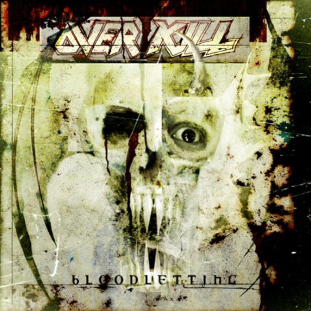 Overkill, Bloodletting CD Cover