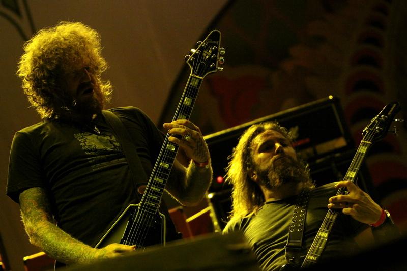 Mastodon, live, Metalcamp 2011