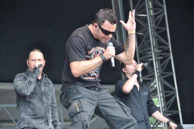 Van Canto, live, Wacken 2011