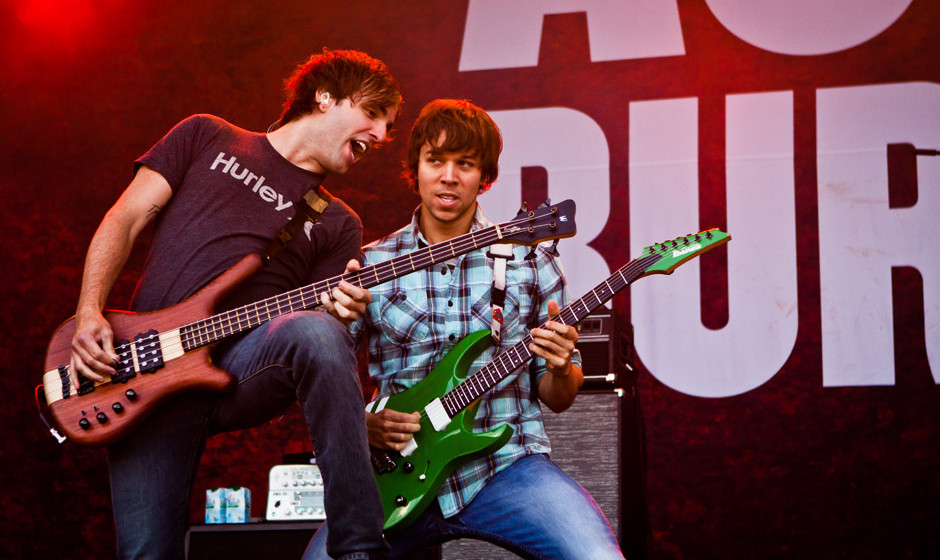 August Burns Red live, Summer Breeze 2014