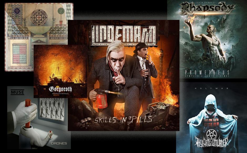 Lindemann, Refused, Gorgoroth, Thy Art Is Murder, Rhapsody und Muse