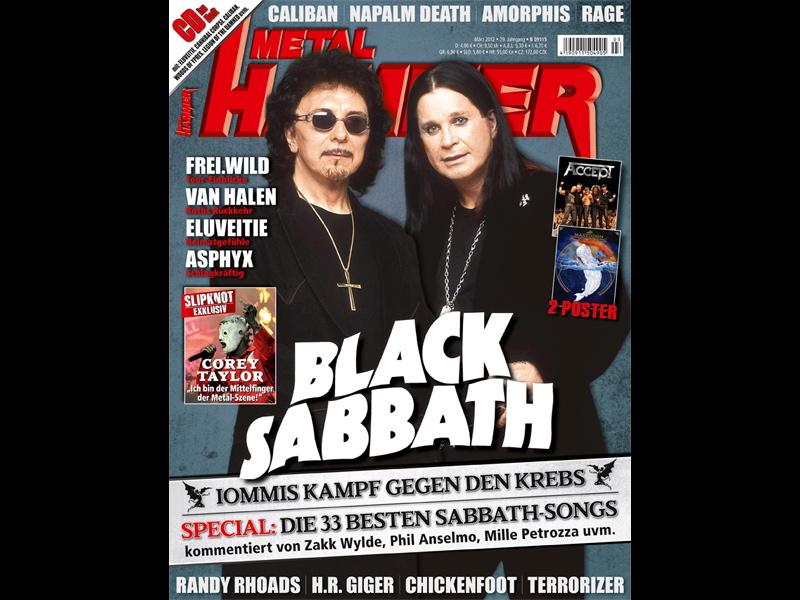 Metal Hammer März 2012, Black Sabbath
