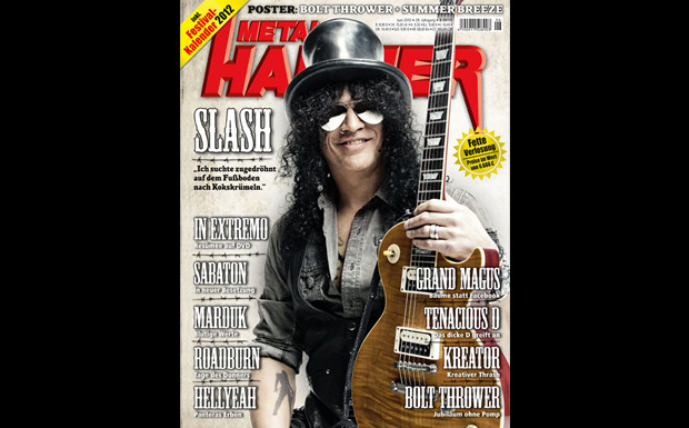 METAL HAMMER Juni 2012 mit Slash