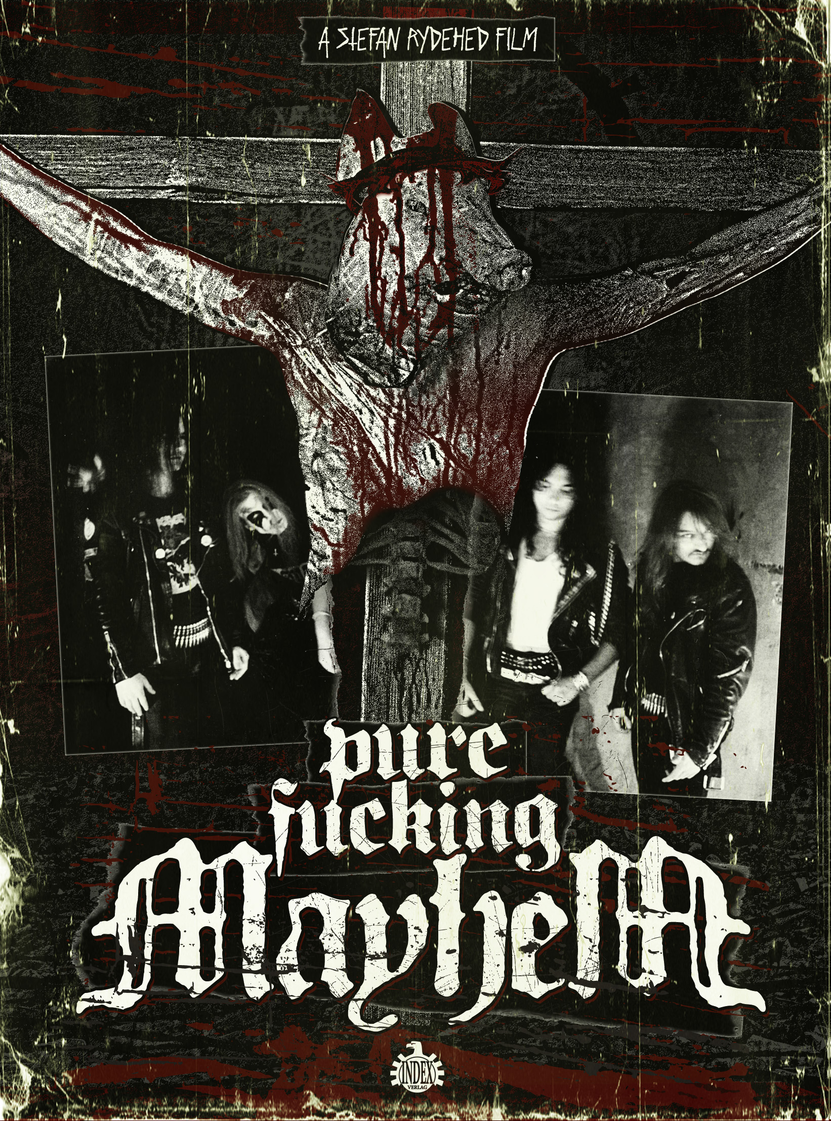 Mayhem, Pure Fucking Mayhem, Cover