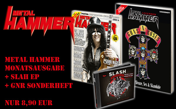 APOCALYPTIC HAMMER, exklusives Slash-Bundle im METAL HAMMER