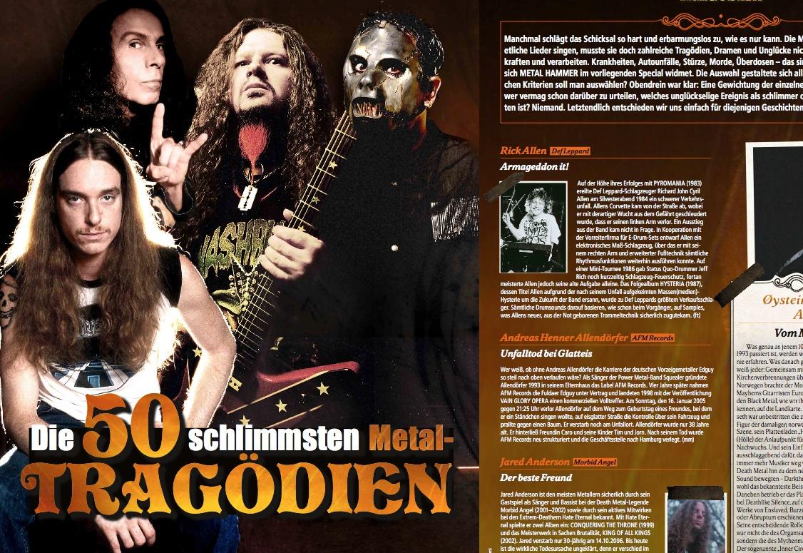 METAL HAMMER Titelgeschichte 07/2012