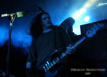 Pete Steele live mit Type O Negative