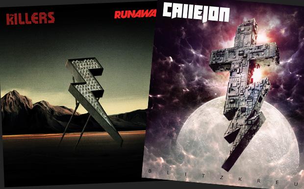 Klauen The Killers das Blitzkreuz von Callejon?