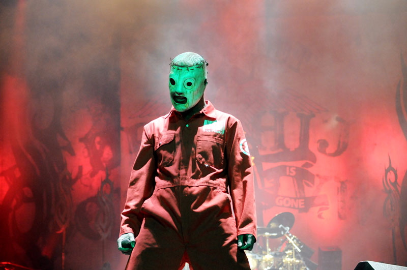 Slipknot, Graspop Metal Meeting 2011