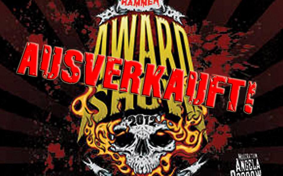 METAL HAMMER Awards 2012 im ausverlkauften Kesselhaus Berlin