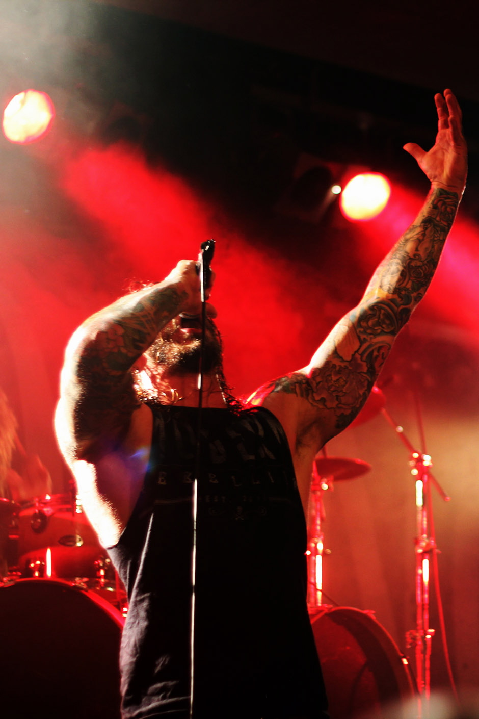 As I Lay Dying live, 06.06.2012 in Karlsruhe
