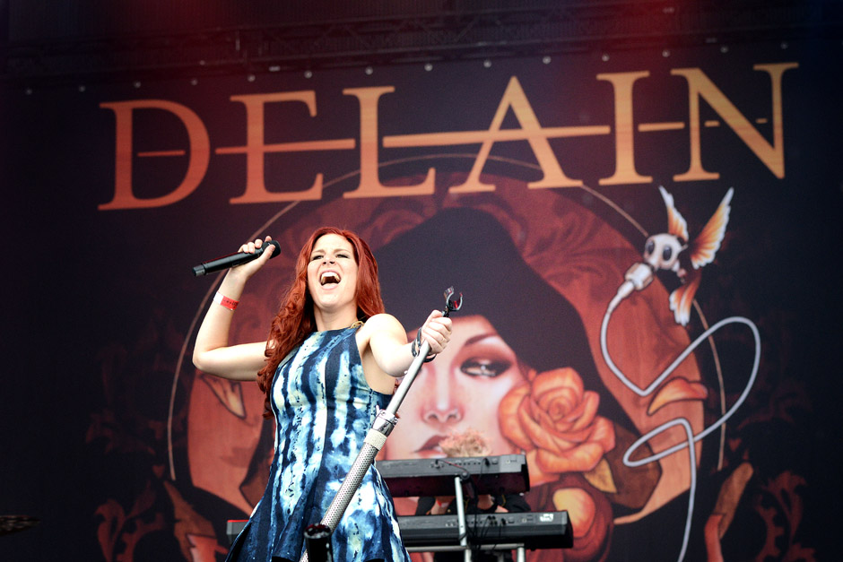 Delain live, Wacken Open Air 2012