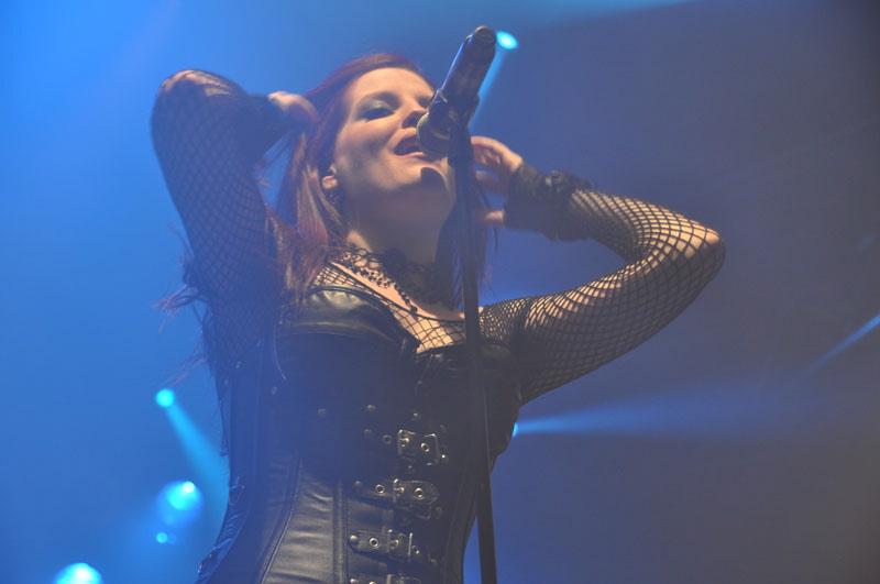 Sirenia, live, Wacken 2011