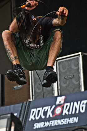 Lamb Of God live, Rock am Ring 2010