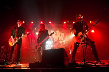 Der W, live, 13.12.2011 Hamburg, Docks