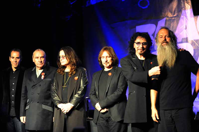 Black Sabbath Presse-Konferenz, 11.11.2011