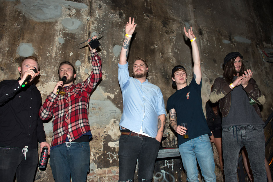 METAL HAMMER Award Show 2012 Best Debut: While She Sleeps THIS IS THE SIX
