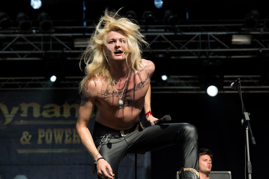 Kissin Dynamite live, Metaldays 2013