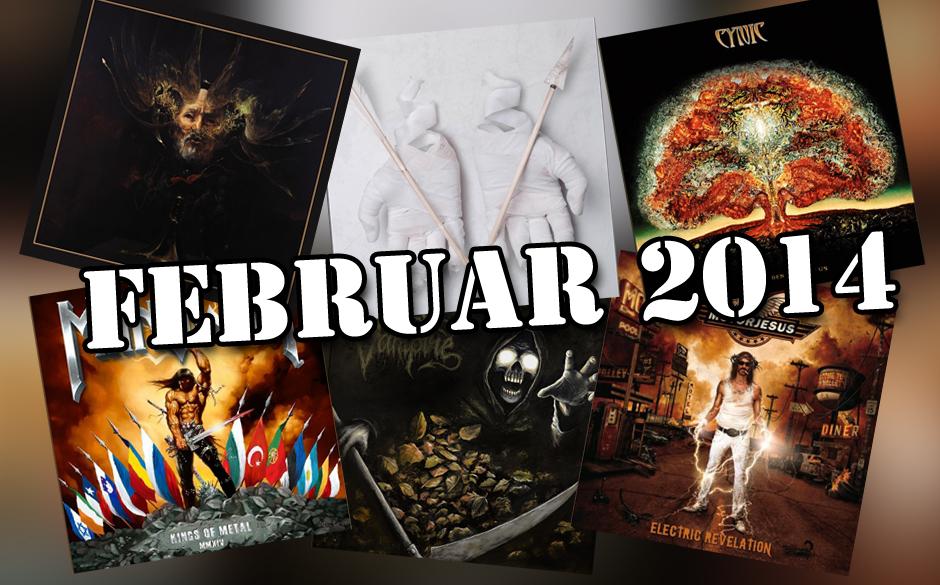 Die neuen Metal-Alben im Februar 2014 >>>