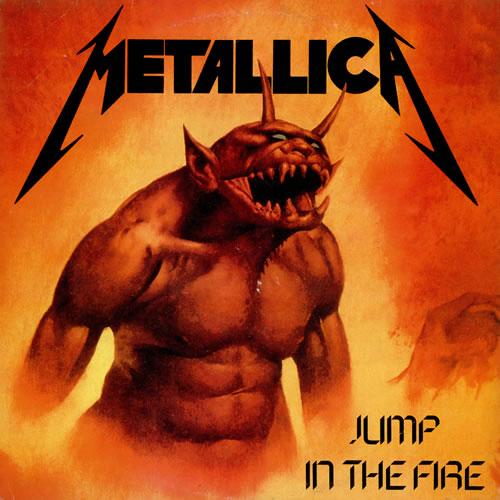 Marc Halupczok: Metallica JUMP IN THE FIRE