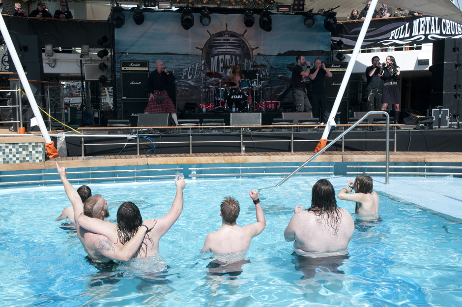 Van Canto live, Full Metal Cruise 2013