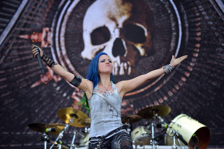 Arch Enemy live, Wacken Open Air 2014