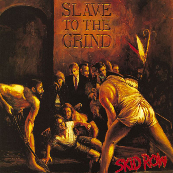Skid Row, Slave To The Grind, Cover