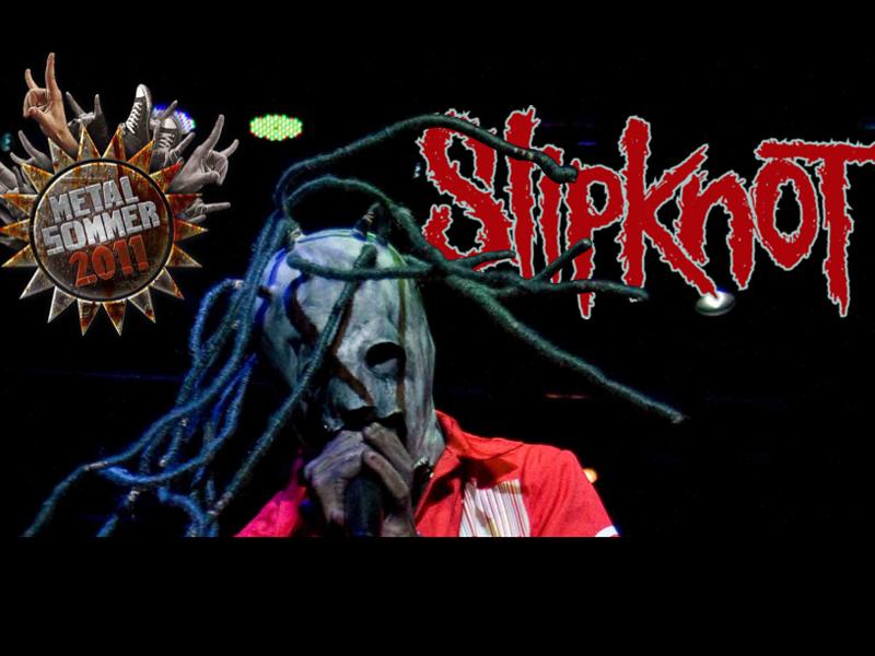 Slipknot in der METAL HAMMER August-Ausgabe 2011