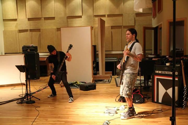 Machine Head im Studio, Mai 2014