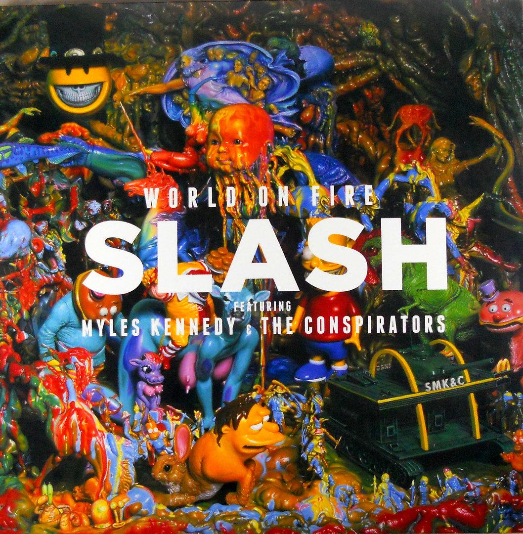 01. Slash WORLD ON FIRE