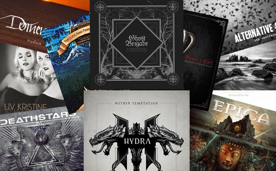 Die Dark/Gothic/Symphonic Metal-Alben 2014