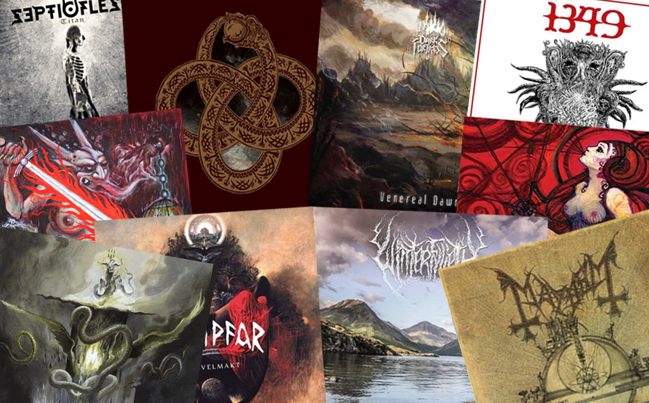 Die besten Black Metal-Alben 2014