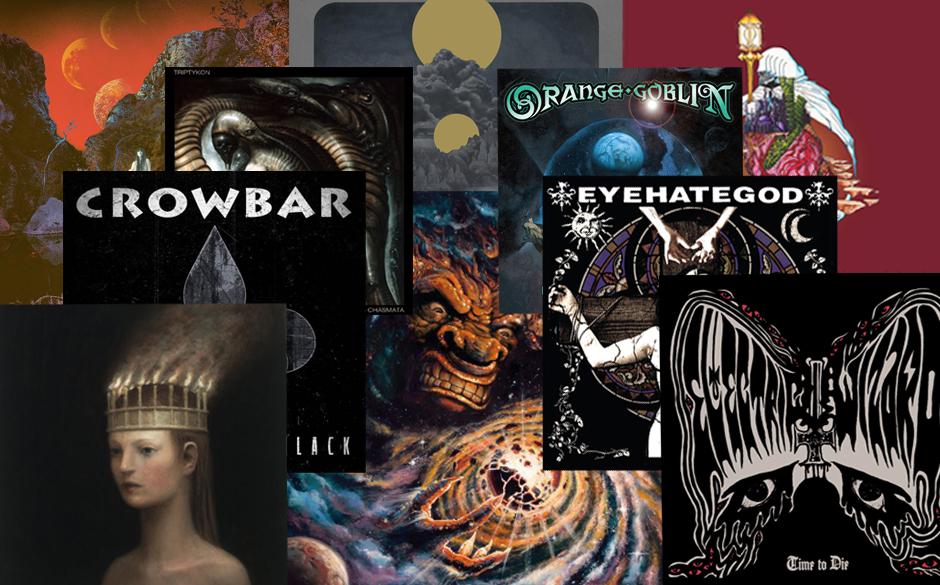 Die besten Doom /Stoner/Sludge-Alben des Jahres 2014