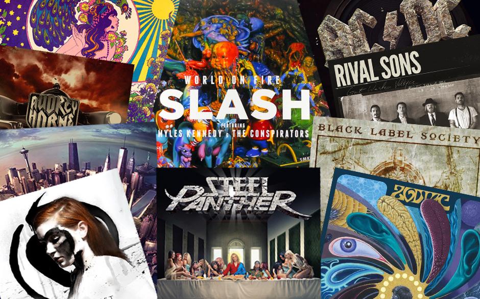 Die besten Hard Rock-Rock-Alternative-Alben 2014