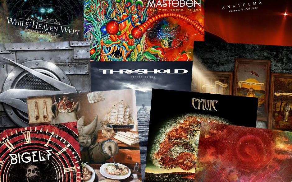 Die besten Progressive Rock-Metal-Alben 2014