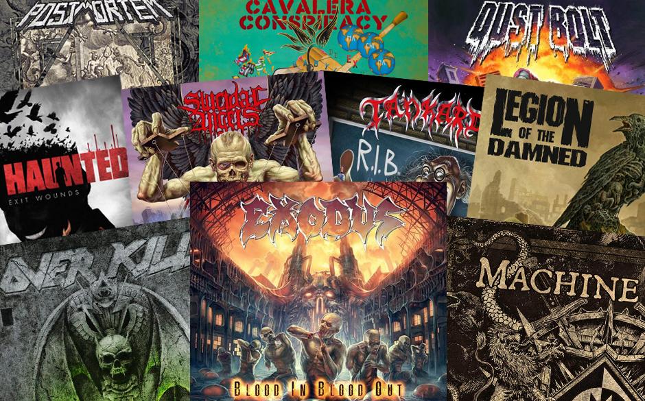 Die besten Thrash Metal-Alben 2014