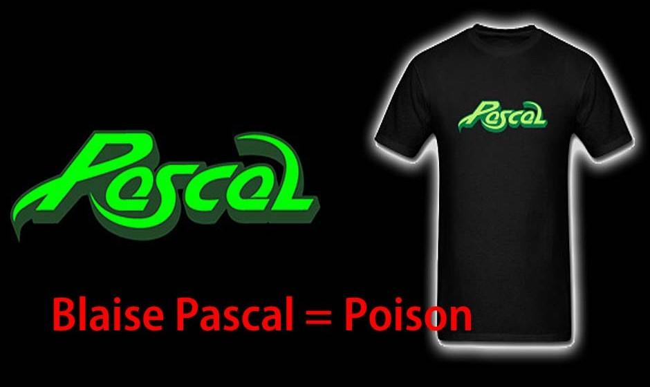 Blaise Pascal = Poison