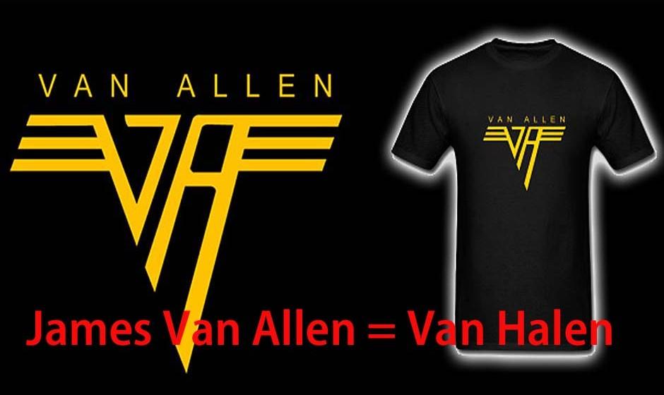 James Van Allen = Van Halen