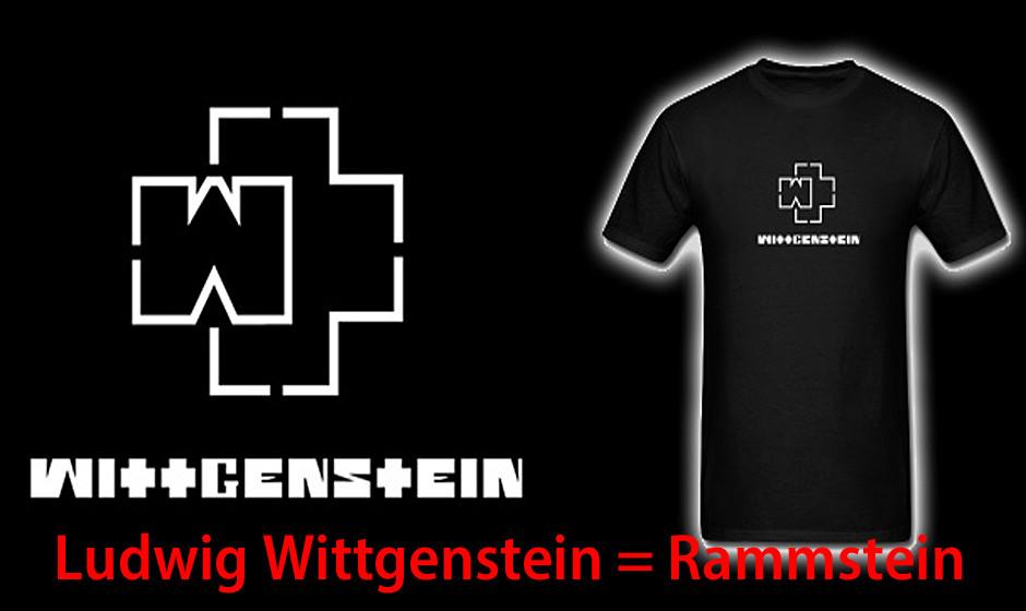 Ludwig Wittgenstein = Rammstein