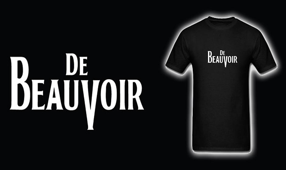Simone De Beauvoir (1908-1986) war eine französische Schriftstellerin, Philosophin und Feministin. Die politisch engagierte