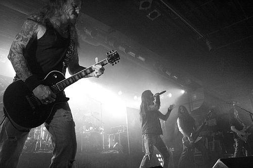 Iced Earth, live, 08.12. München, Backstage Werk