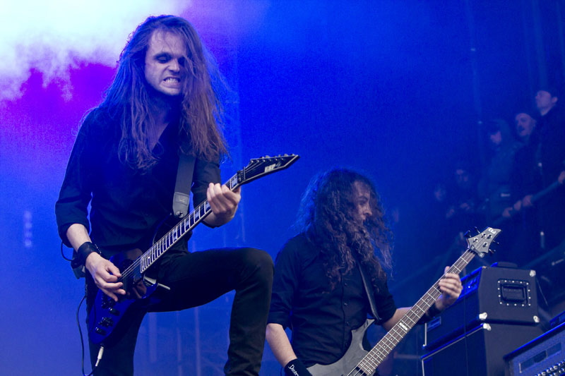 Satyricon, live, With Full Force 2011