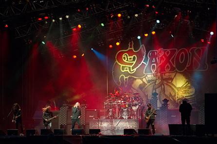 Saxon, live 2011, Sweden Rock Festival