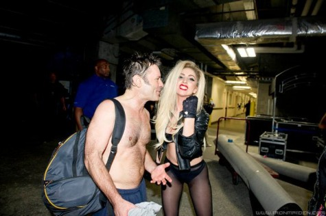 Iron Maiden Bruce Dickinson Lady Gaga
