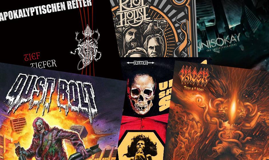Das sind die neuen Metal-Alben vom 30.05.2014 >>>