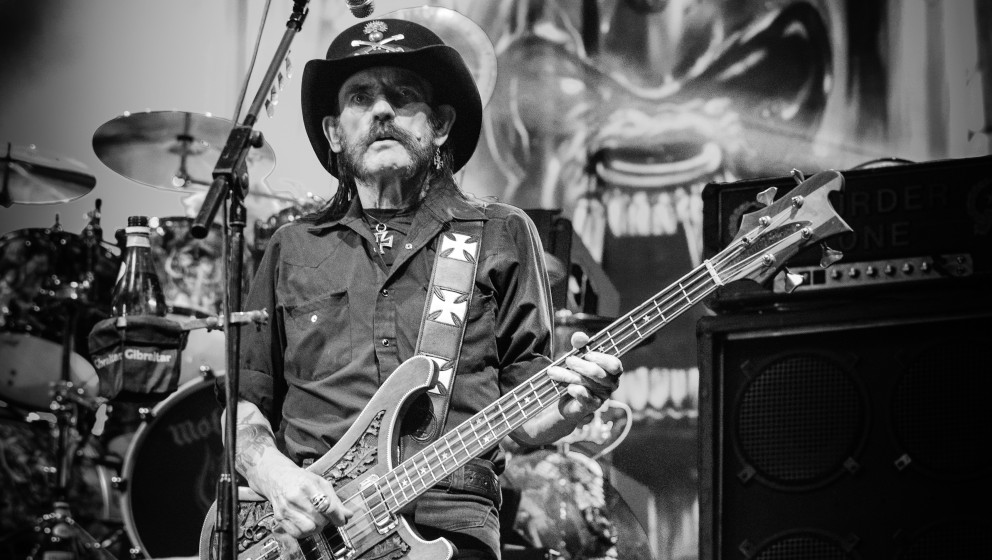 Lemmy Kilmister mit Motörhead, live, 16.11.2014, Berlin