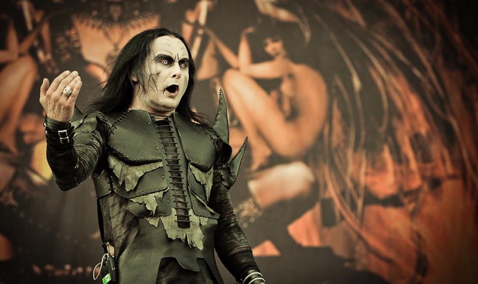 Cradle Of Filth live, Nova Rock 2013