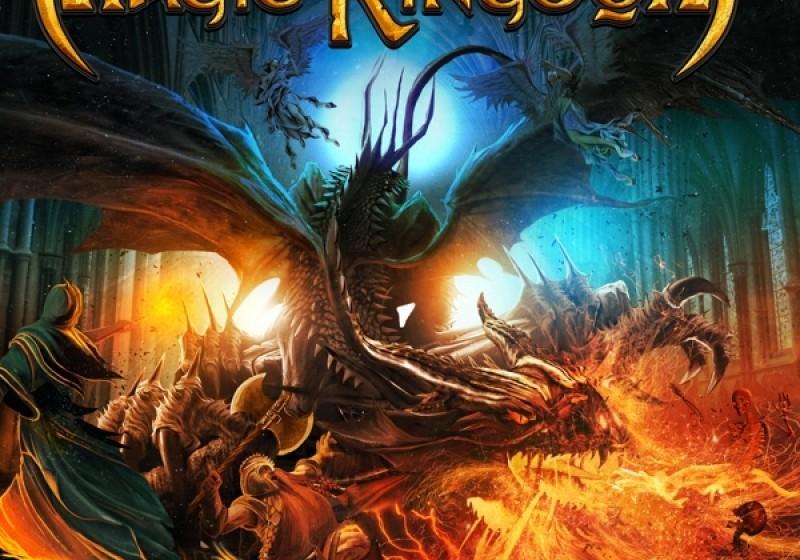 Magic Kingdom - SAVAGE REQUIEM  Den letzten Platz im April ergattern die Power-Metaller von Magic Kingdom, die auf SAVAGE REQ